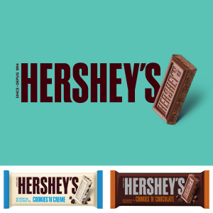 HERSHEY'S marque de chocolat préférée des américains