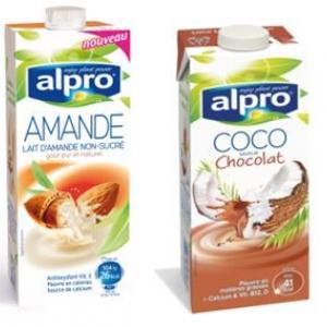 Alpro - Les boissons végétales gagnent en visibilité